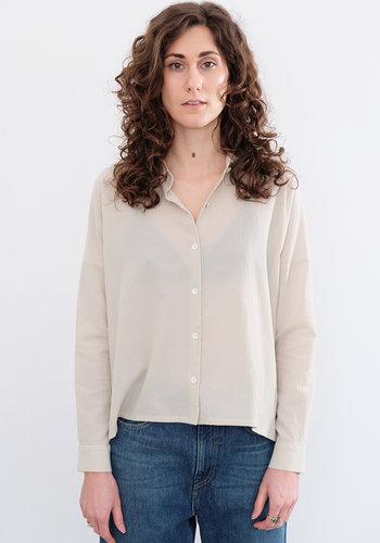 Evam Eva Crepe Cotton Blouse