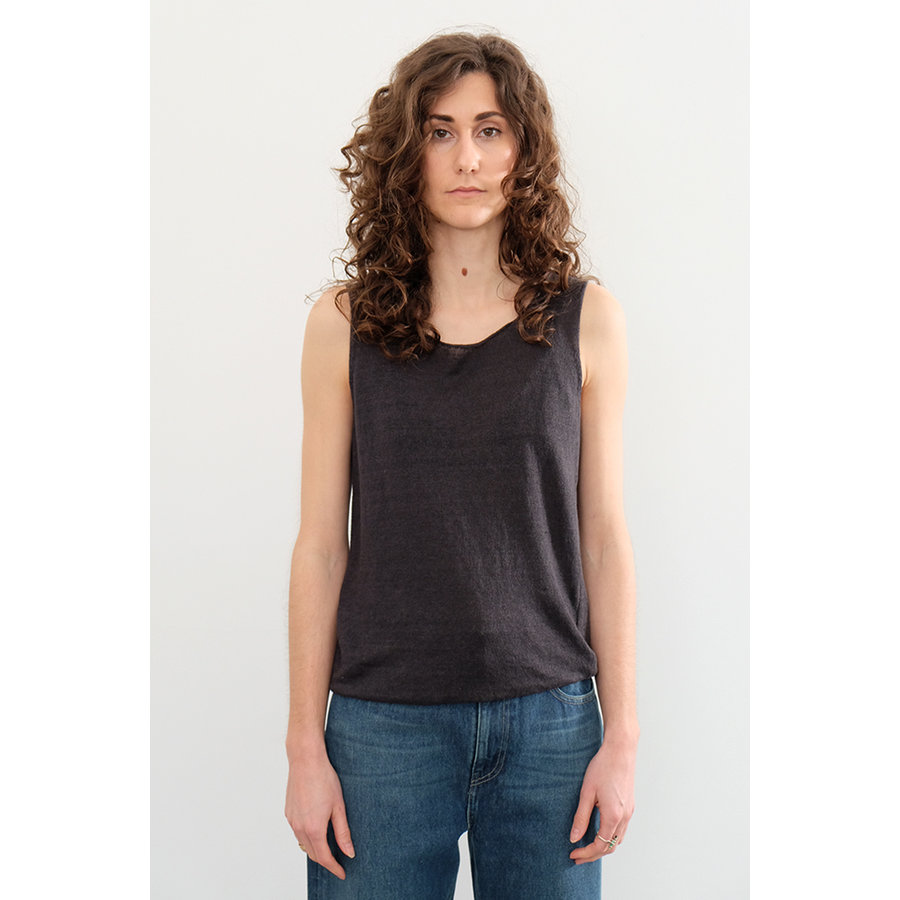 French Linen Yarn Tank