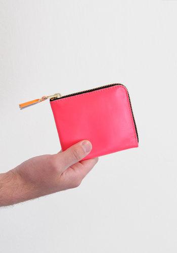 Comme des Garçons Super Fluo Corner Zip Wallet