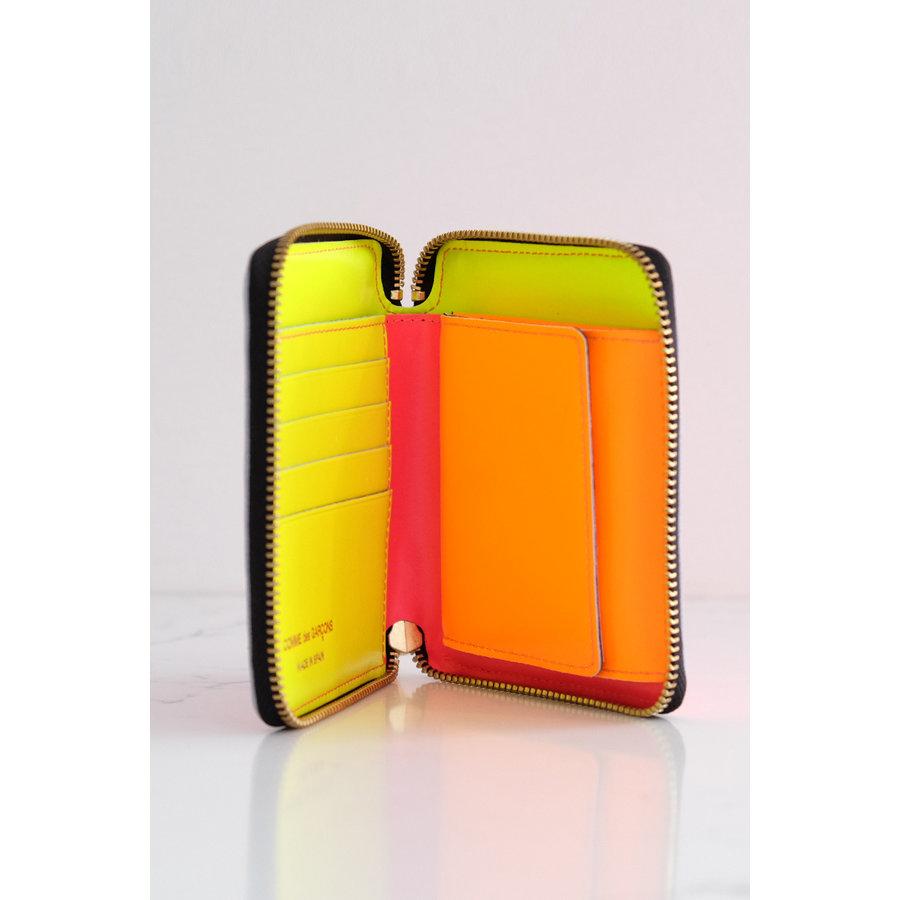 Super Fluo Zip-Around Wallet