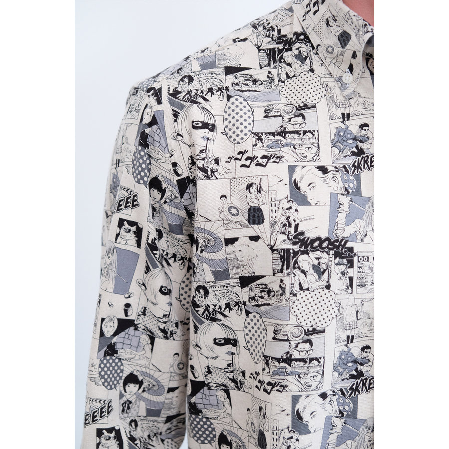 Manga Oxford Shirt