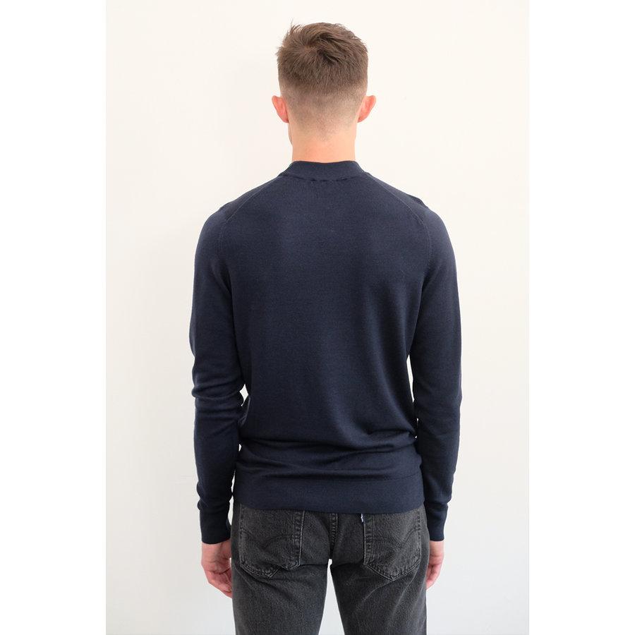 Mock Neck Merino Sweater