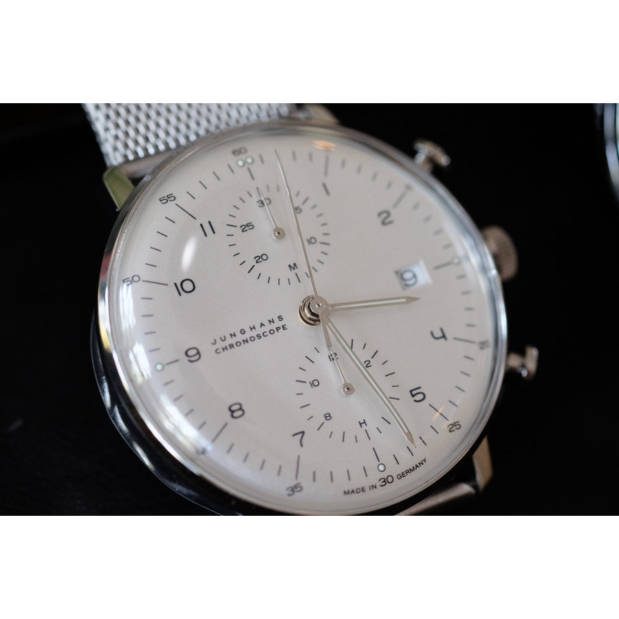Max Bill Chronoscope Automatic Watch