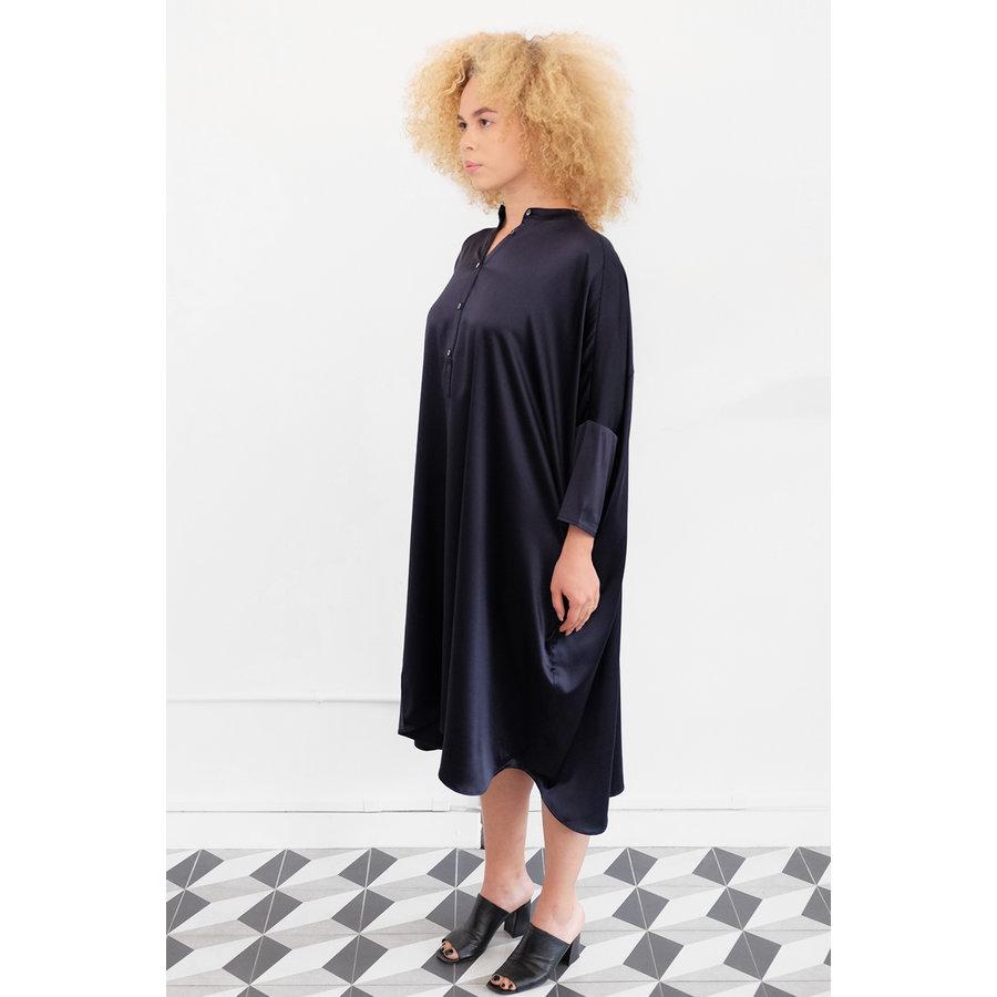 Big Square Silk Dress
