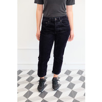 Shorty Velvet Denim Jeans