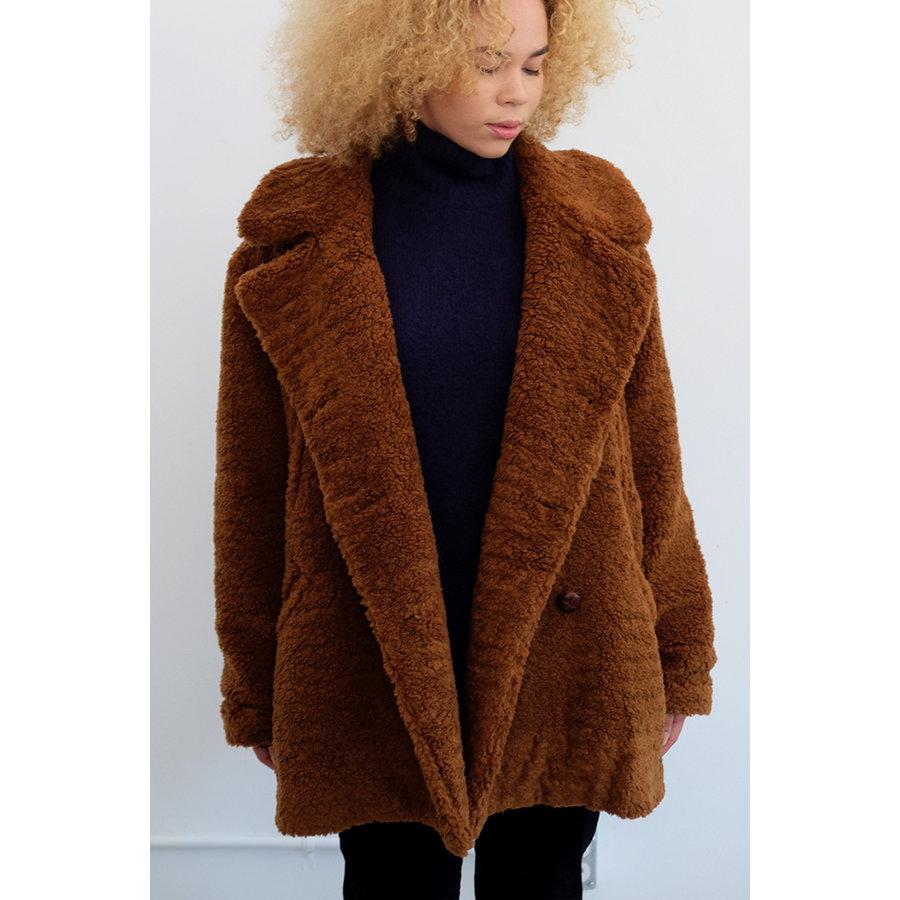 Fuzzy Peacoat