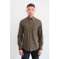 Flannel Oxford Shirt