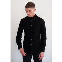 Exclusive Black on Black Flannel Shirt