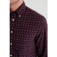 Corduroy Jacquard Print Shirt