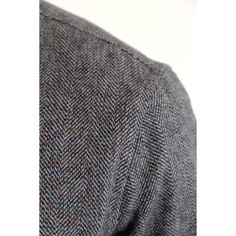 Herringbone Flannel Shirt
