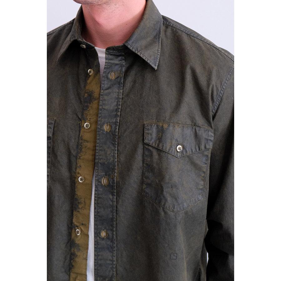 Sahara Wax Woven Overshirt