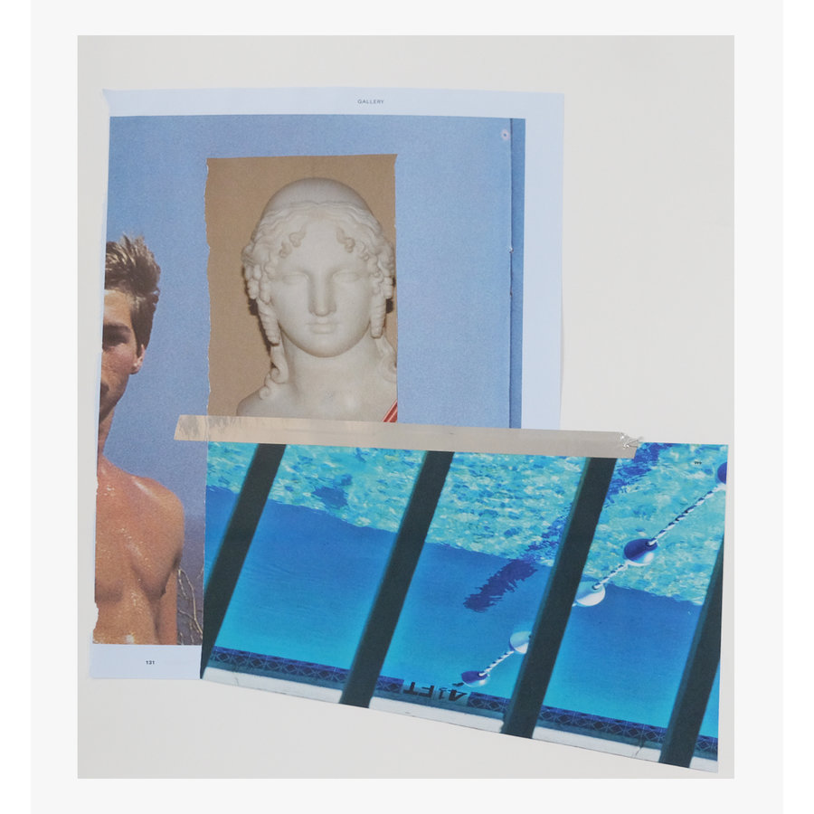 Framed Bear Smith Collage