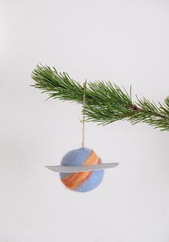 Celestial Felt Ornament