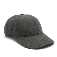 Wool Flannel Ball Cap