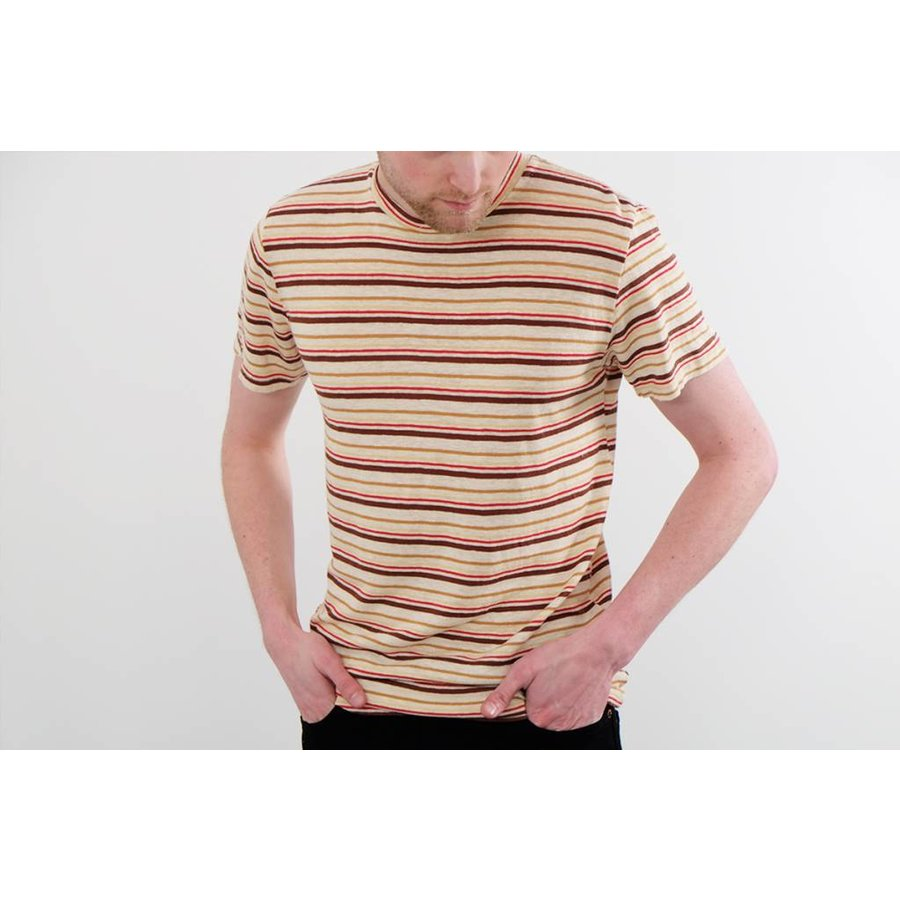 100% Yarn Dyed Hemp Tee