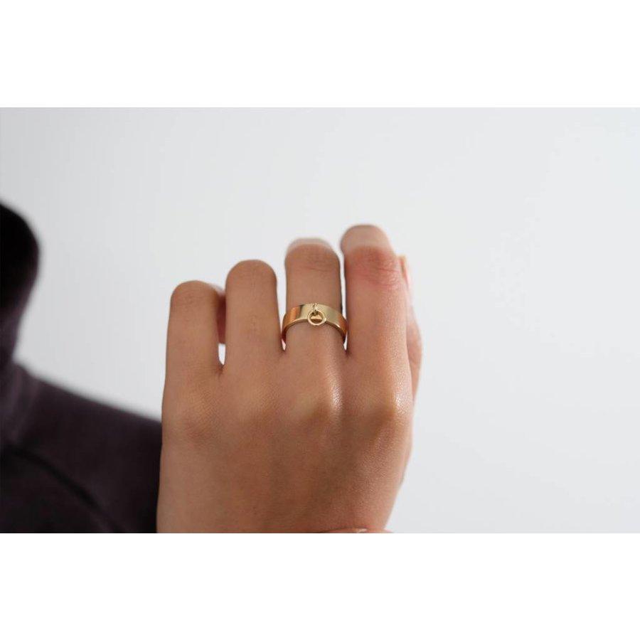 14k Collar Ring
