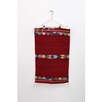 Custom Oaxacan Diamonds Belt Rug