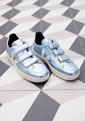 Veja V-12 Leather Velcro Sneaker