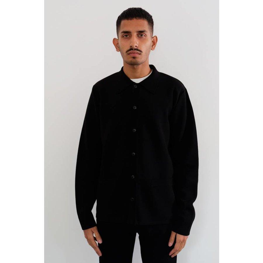 Merino Button Jacket