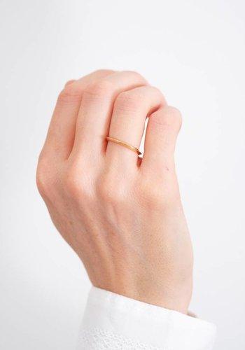 Kristen Elspeth Gold Talon Ring