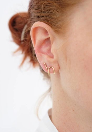 Susumi Studio 14k Magnet Stud Earring