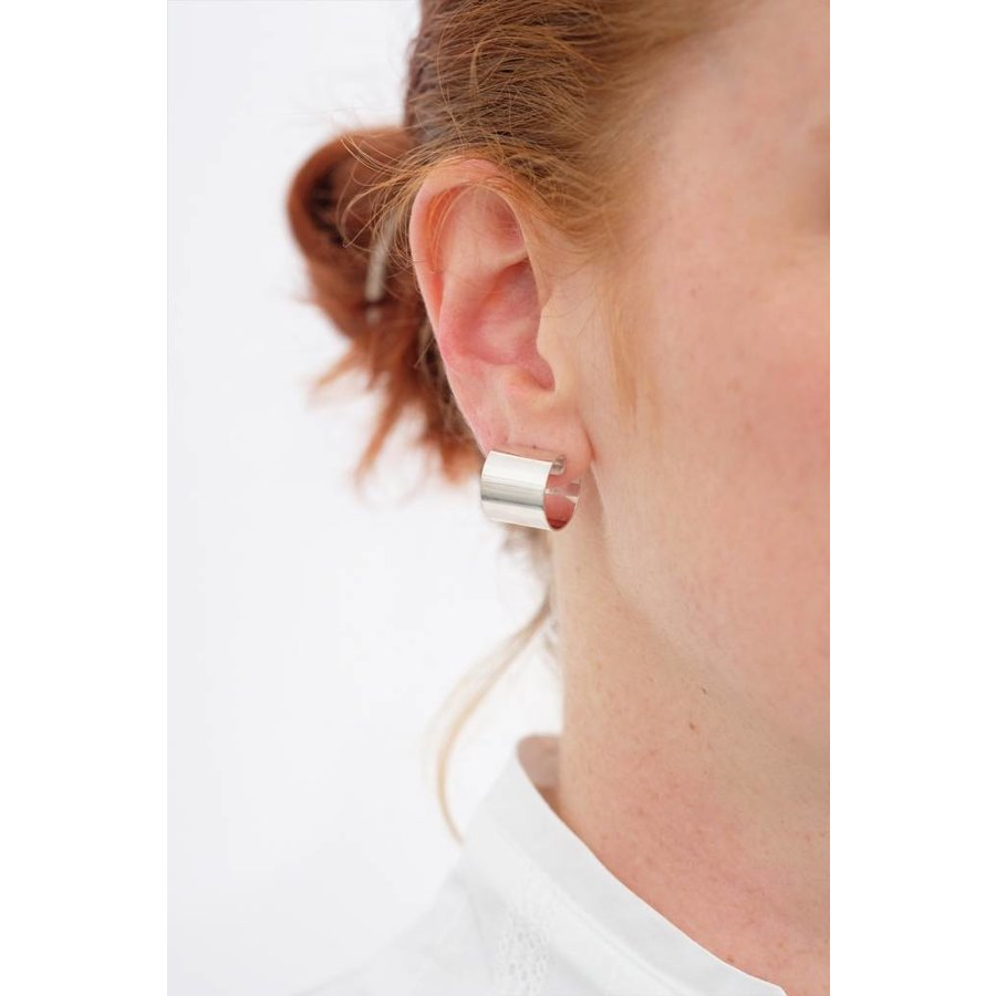 Armor Hoop Earrings