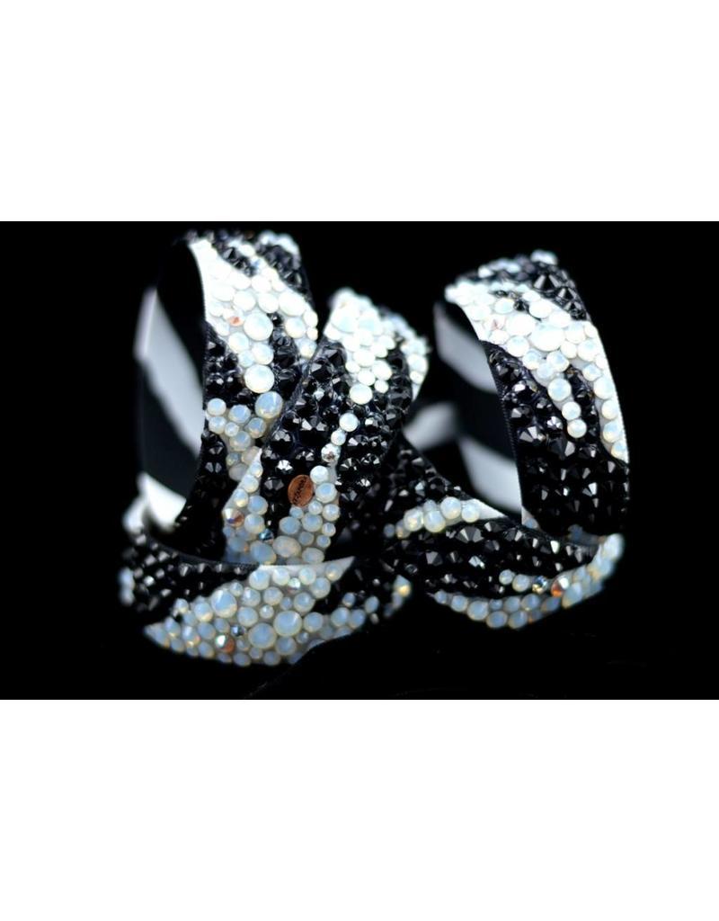 Zebra print bangles (ea)