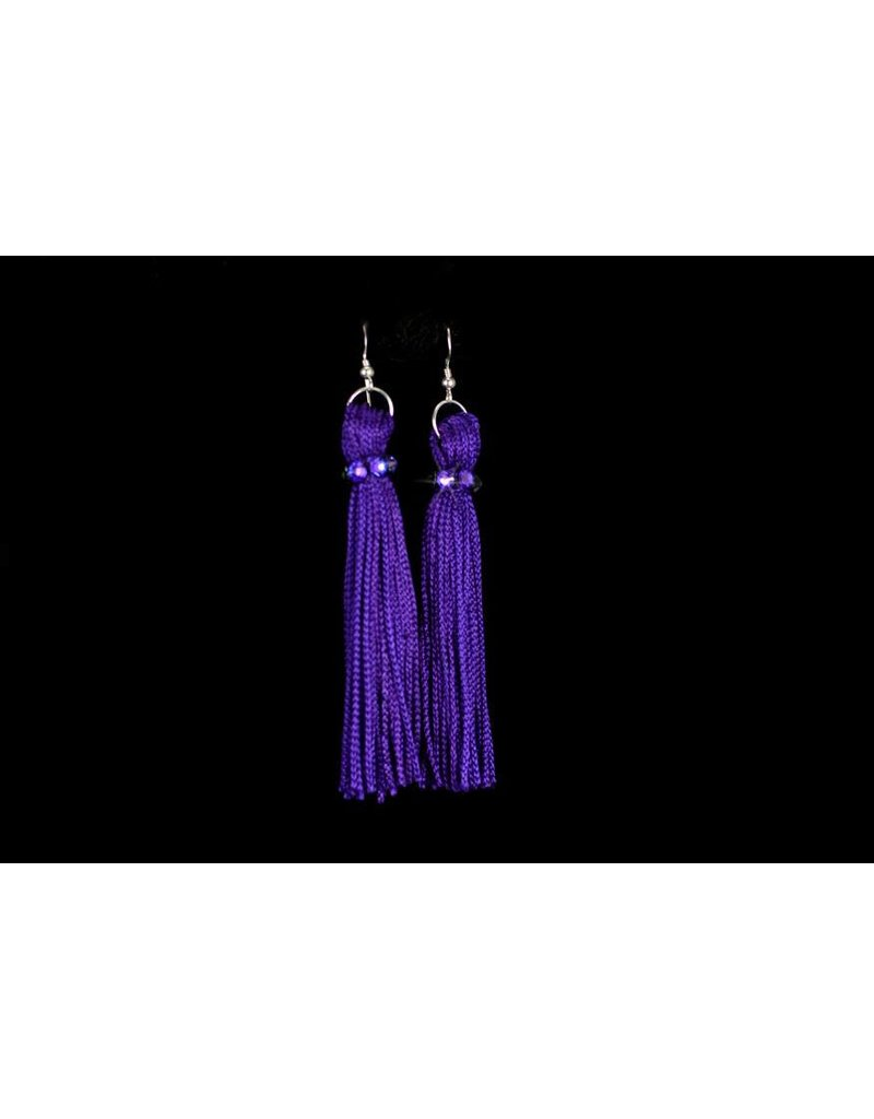 Purple Tassel