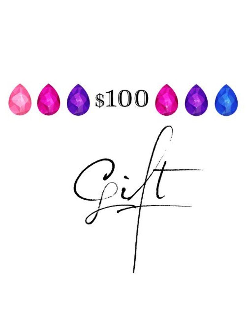 cadeau $100