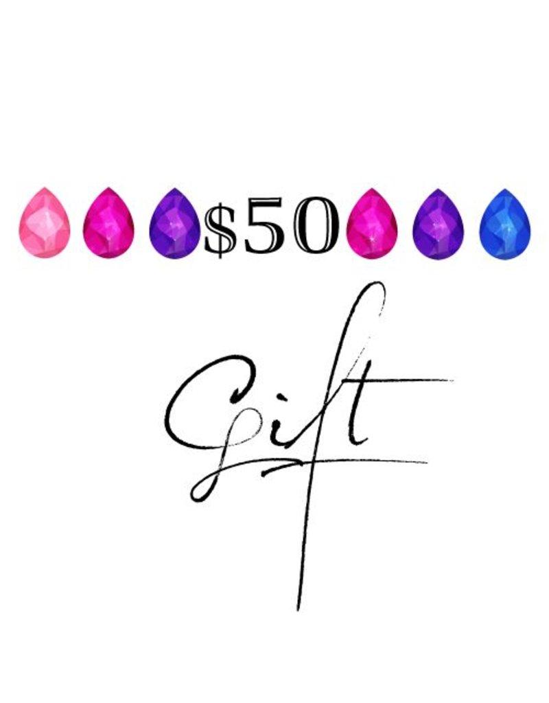 cadeau $50