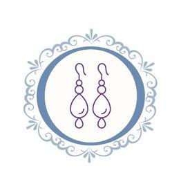 Boucles d'oreilles couture (dépôt)