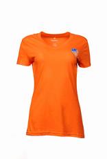 Fanatics Women's Mini Crest V-Neck
