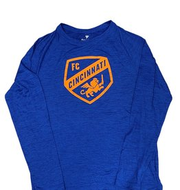 Fanatics Striated Tonal Crest Long Sleeve