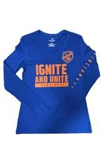 Fanatics Women's Ignite Unite Long Sleeve V-Neck