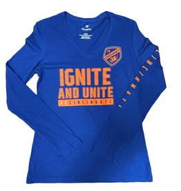 Fanatics Women's Ignite Unite Long Sleeve V-Neck