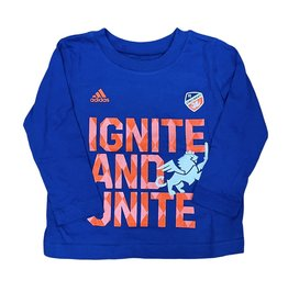 Adidas Ignite Unite Toddler Long Sleeve