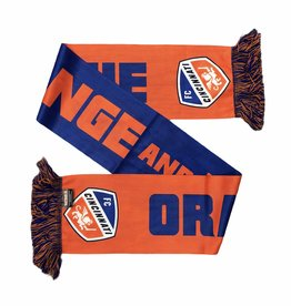 Ruffneck Scarves Orange & Blue Scarf