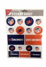 """Wincraft 5""""x7"""" Sticker Sheet"""