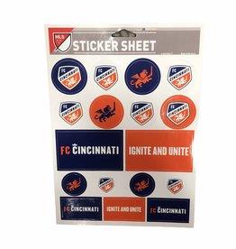 Wincraft Sticker Sheet