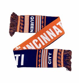 Ruffneck Scarves Queen City Holiday Scarf