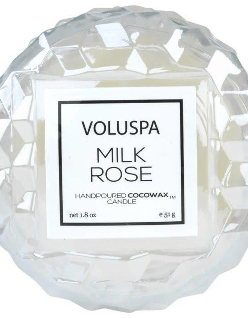 Voluspa Milk Rose Macaron Candle
