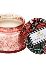 Voluspa Persimmon & Copal glass jar candle