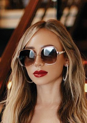 Quay Australia Gold Dust Sunglasses