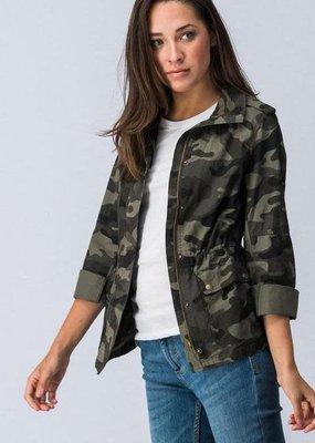 Kenzington Alley Cargo military camo jacket