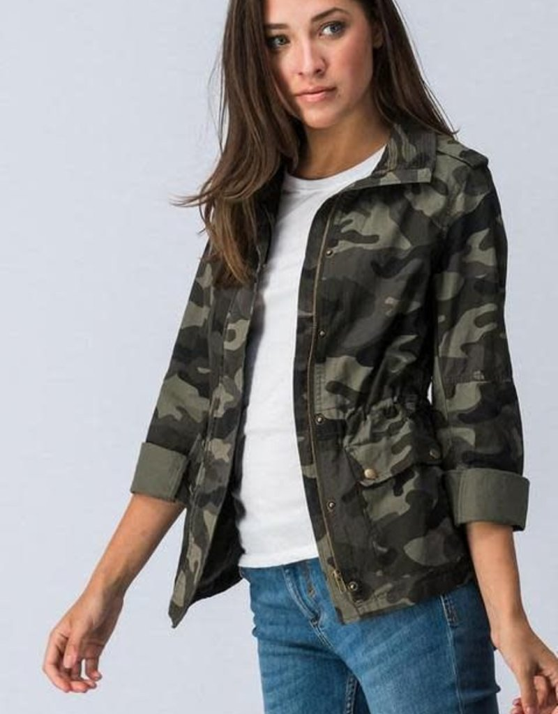 Kenzington Alley Cargo military camo jacket