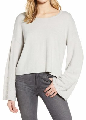 Cupcakes and Cashmere Quartz Fox Pearl Sweater