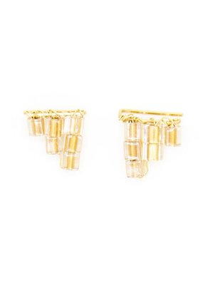 sarah briggs Haven Selene Stair Crawler Earrings