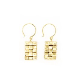 sarah briggs Haven Astra Dog Tag Earrings