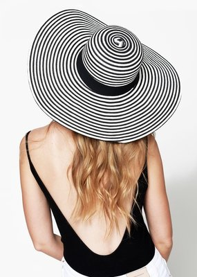 Kenzington Alley Straw Wide Brim Hat