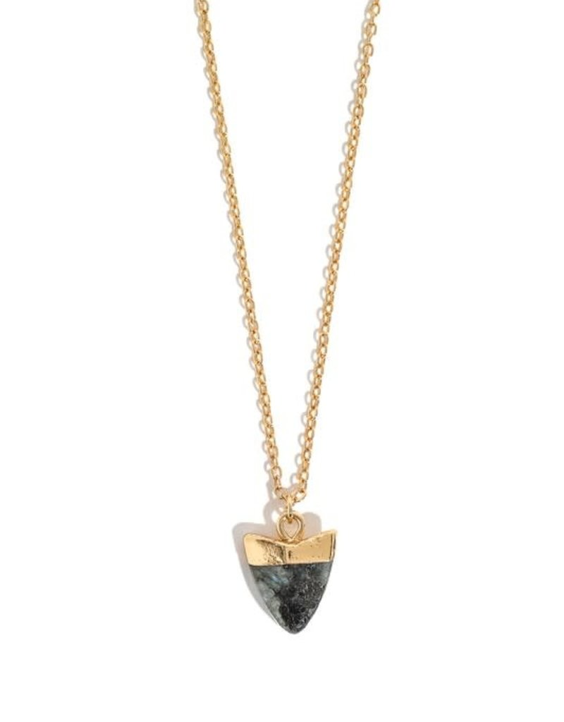 Kenzington Alley Shark tooth necklace
